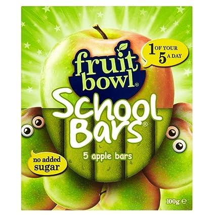 5x20g Fruit Bowl School Bars Apple