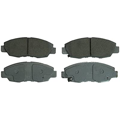 Wagner ThermoQuiet QC1578 Ceramic Disc Pad Set With Installation Hardware, Front: Automotive