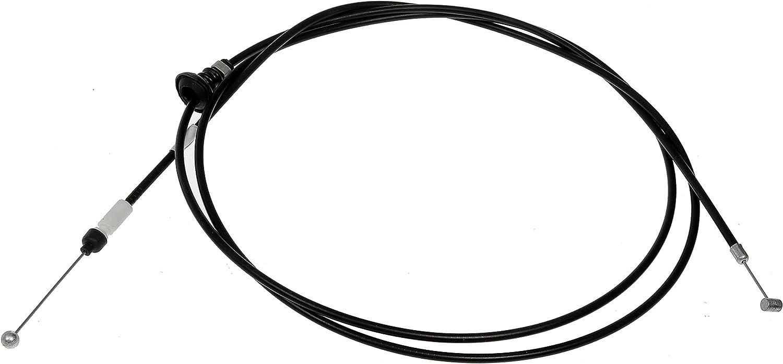 Dorman 912-018 Hood Release Cable Black