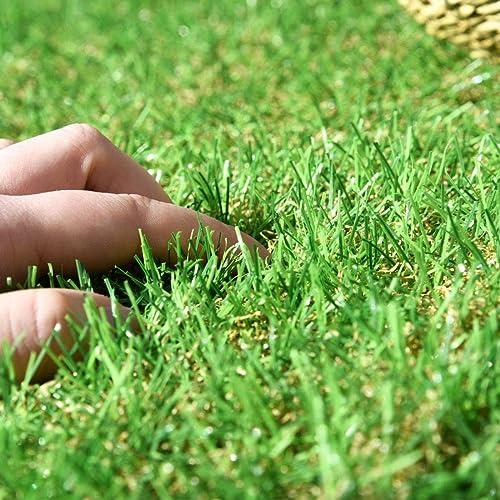 踏んでも葉が倒れにくいタンスのゲンの人工芝