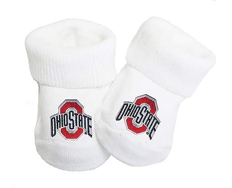 Amazon.com  Future Tailgater Ohio State Buckeyes Baby Toe Booties ... b4fa293919ab
