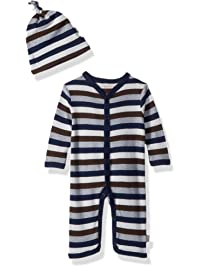 1d81f204a8a Burt s Bees Baby - Unisex Romper and Hat Set