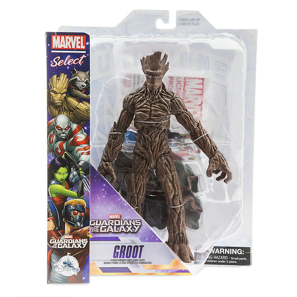 Marvel Groot Action Figure - Guardians of The Galaxy Select - 10 Inch
