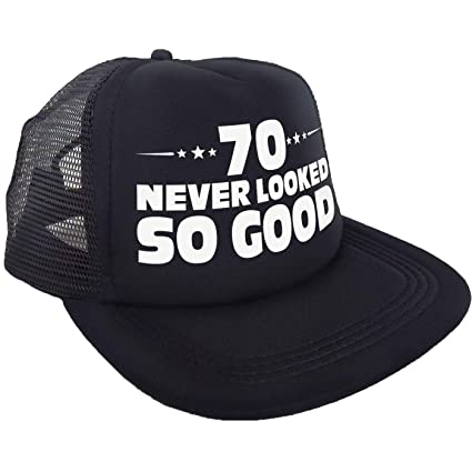 Amazon 70 Never Looked So Good Hat Happy 70th Birthday Party Supplies Ideas And Decorations