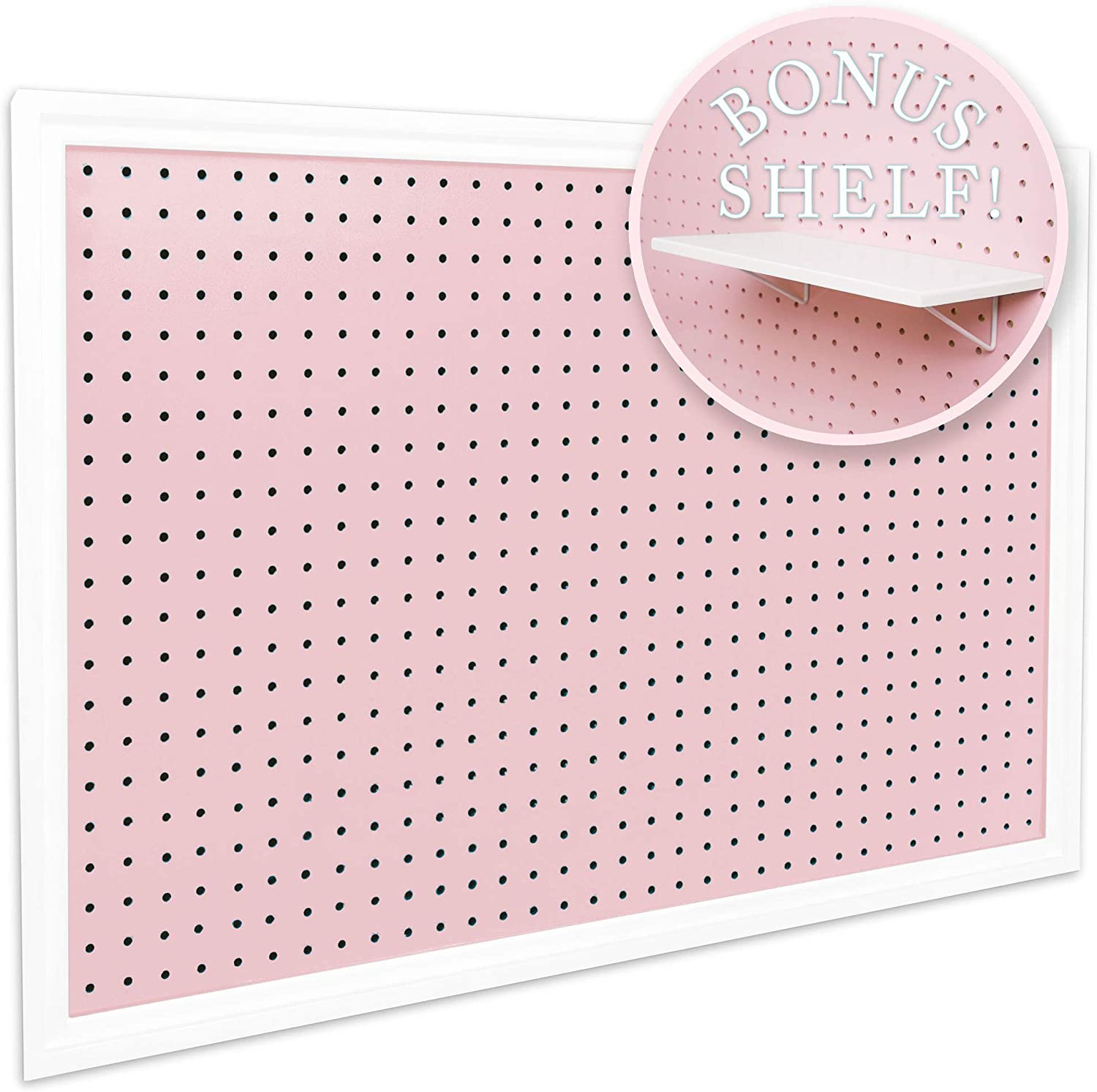 """Pegboard Organizer - Craft Peg Board