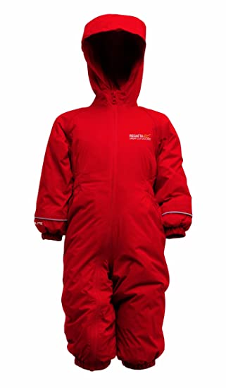1d77854a2 Regatta Boy s Splosh II Padded Rain Suit  Amazon.co.uk  Sports ...