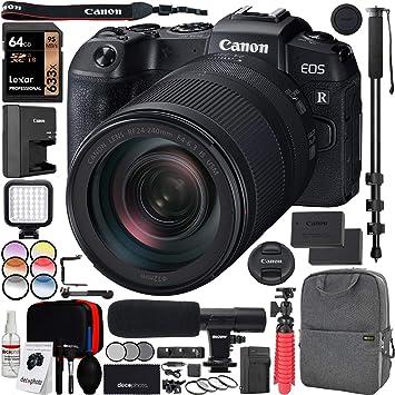 Canon EOS RP Full Frame Cuerpo de cámara Digital sin Espejo con RF ...