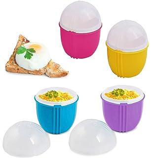 Amazon.com: Micro Huevo Microondas Huevo Taza de cocción, A ...