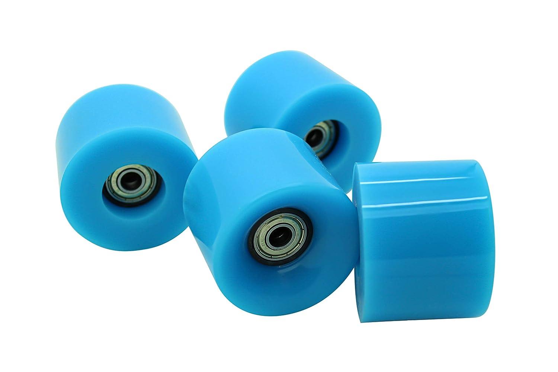 AJK Penny Style - Juego de 4 ruedas blandas para monopatín ...
