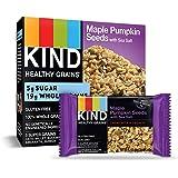 KIND Healthy Grains Bars, Maple Pumpkin Seeds with Sea Salt, Gluten Free, 1.2 oz Bars, 5 Count