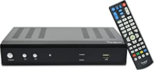 IVIEW-3500STBII, Digital Converter Box with Recording and Media Player, Analog to Digital, QAM Tuner, Channel 3/4, HDMI, USB