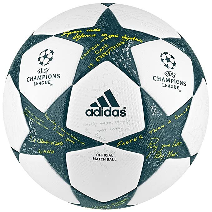 adidas 2016 UEFA Champions League Official Game Soccer Balls White ...