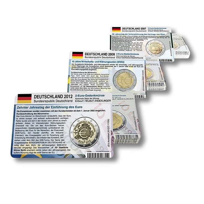 58 Münzkarten 17 Länder Ohne Münze Für 2 Euro Gemeinschaftsmünzen