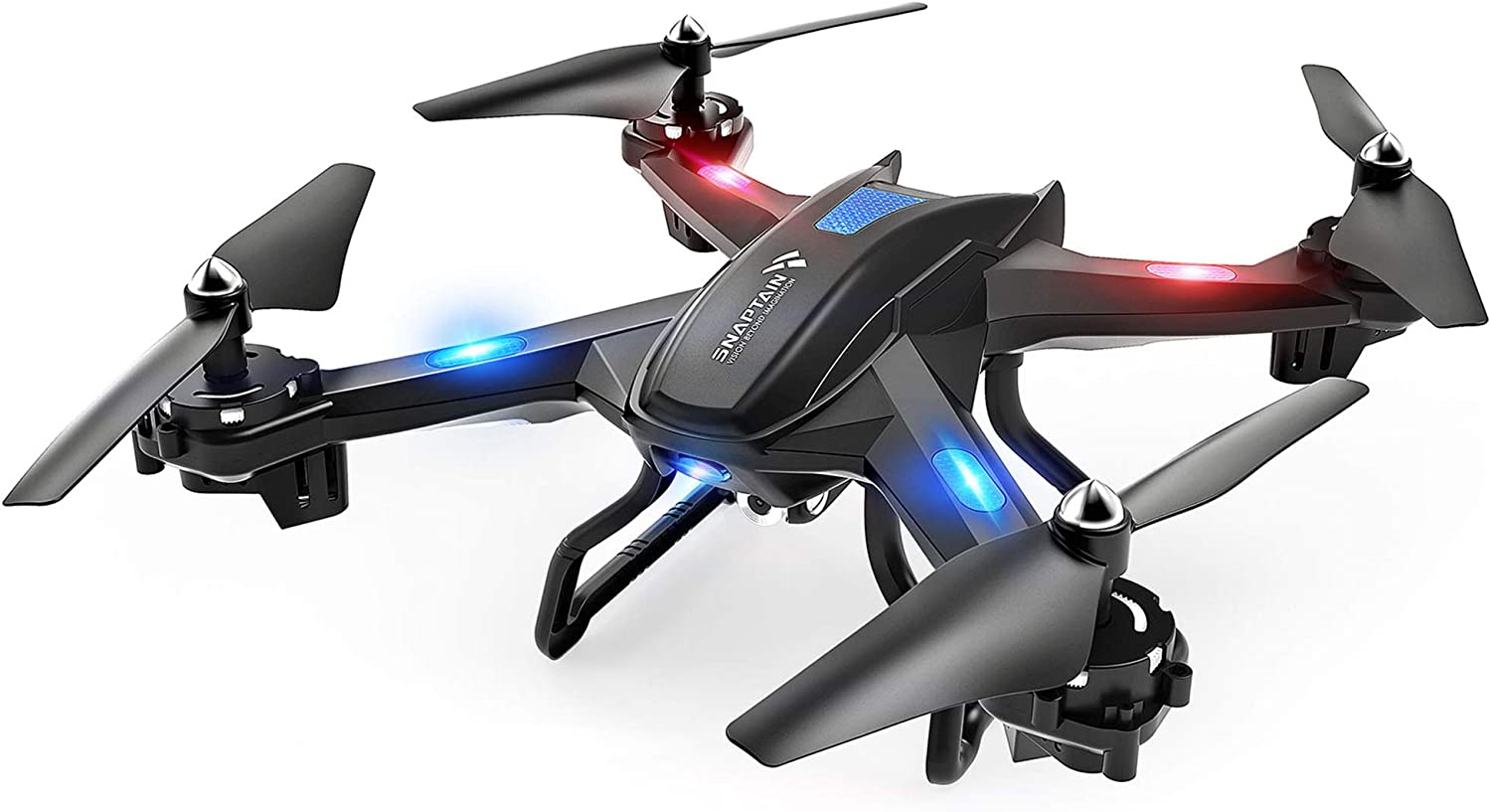 Gravity Sensor Function SNAPTAIN S5C WiFi FPV Drone with 1080P HD Camera Voice Control Live Video RC Quadcopter with Altitude Hold