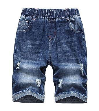 LAUSONS Pantalones Vaqueros Cortos para niños - Shorts ...