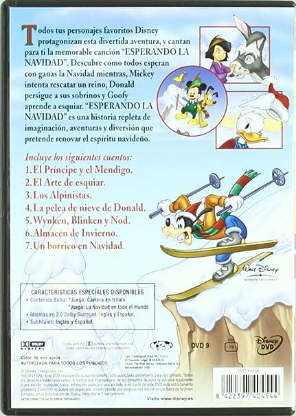 Spain_Pack Navideño Azul Mickey, La Mejor Navidad + Navidad Magica De Mickey + Esperando La Navidad DVD: Amazon.es: Varios: Cine y Series TV