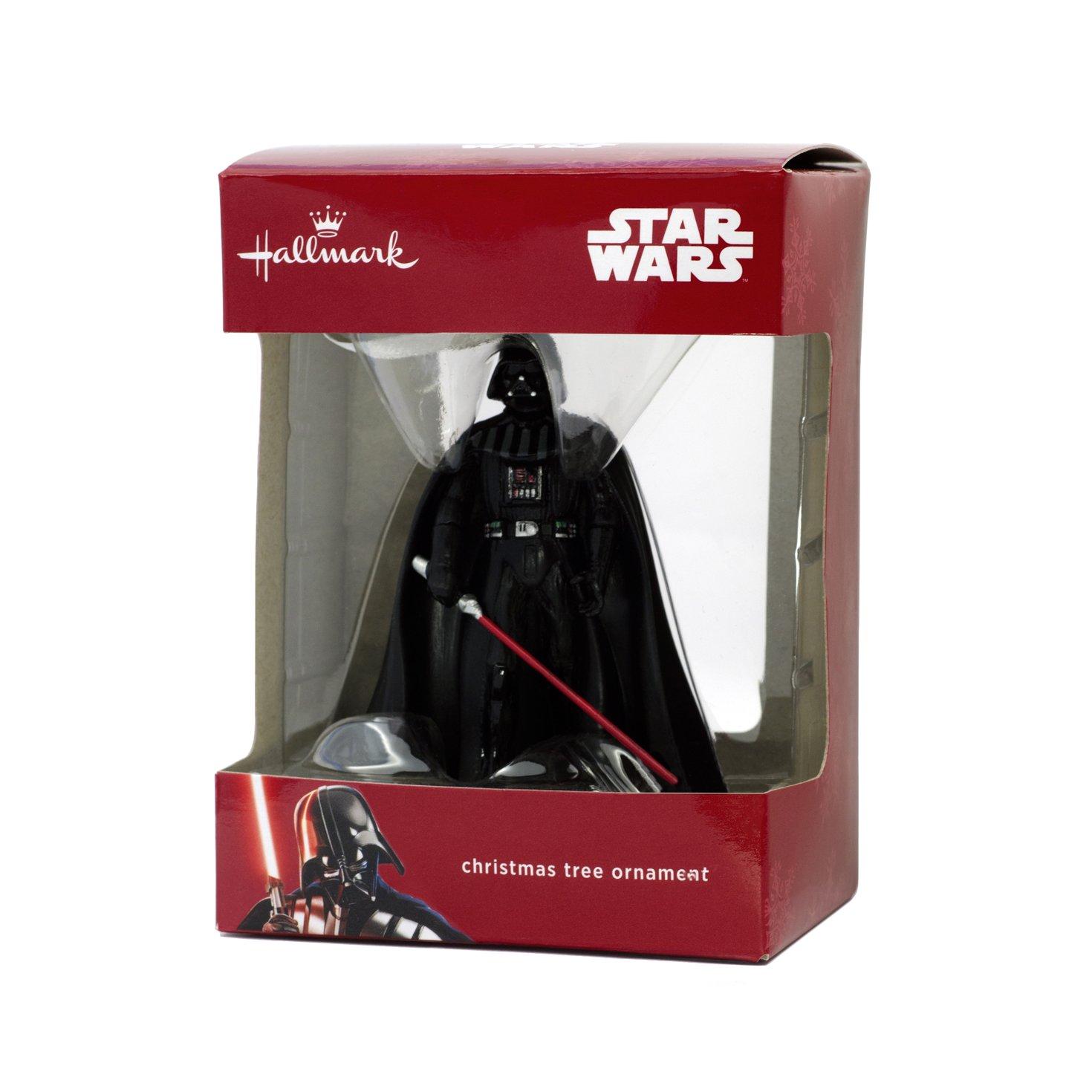 Amazon: Hallmark Star Wars Darth Vader Holiday Ornament: Home & Kitchen