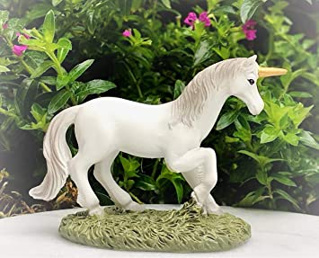 Amazon.com: Dollhouse - Figura decorativa de mini unicornio ...