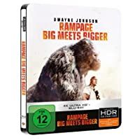 Rampage: Big meets Bigger (Steelbook, inkl. Blu-ray) [4K Blu-ray]