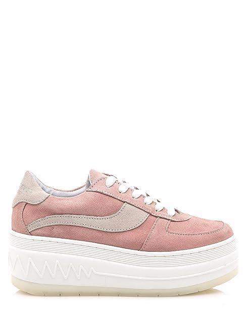 Sneakers Rosas Plataforma de Sixtyseven (41 - Rosa)