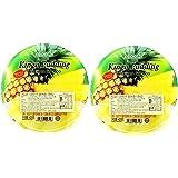 COCON可康牌大杯菠萝味布丁420g*2(马来西亚进口)