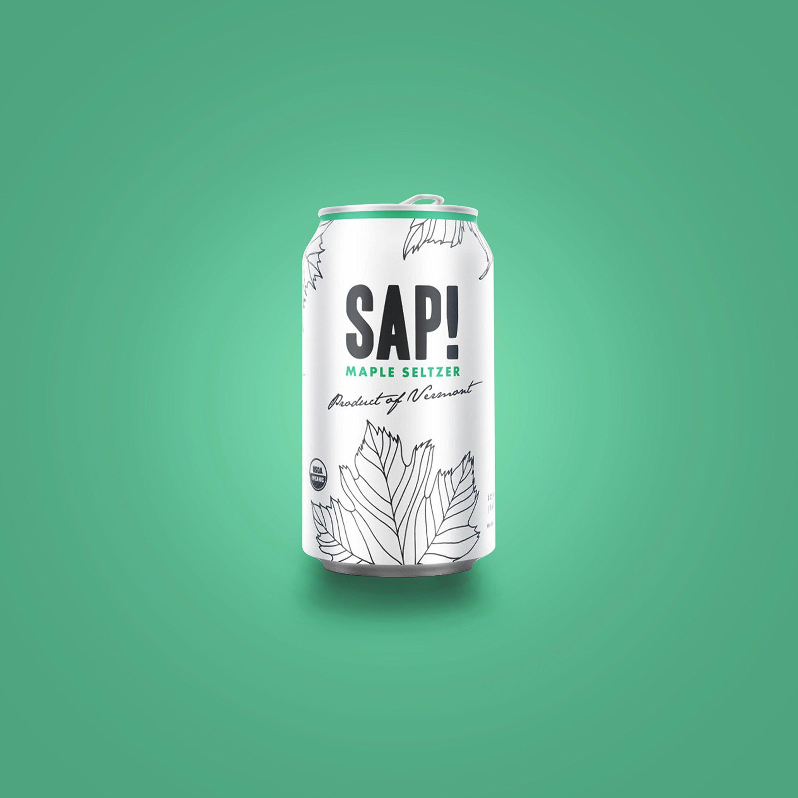 Amazon.com : Sap! Maple Seltzer Water - Case of 24 - USDA Organic ...