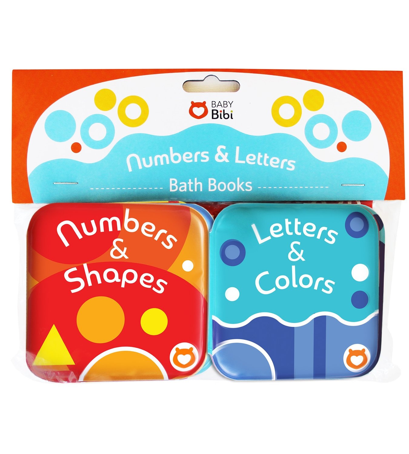 Baby Bath Books, Pack of 2 by Baby Bibi. Alphabet & Numbers Books ...