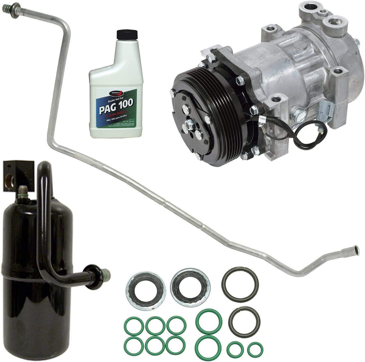 Universal Air Conditioner KT 4452 A//C Compressor and Component Kit