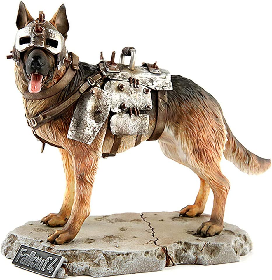 Chronicle Collectibles Fallout 1 6 Scale Dogmeat Statue