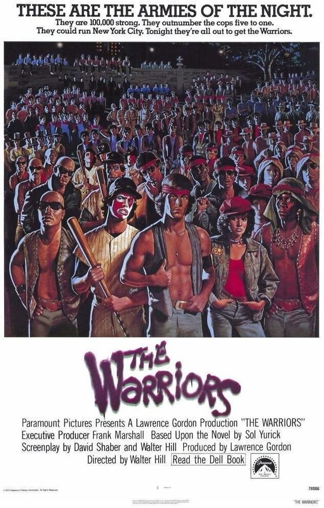 The Warriors Movie POSTER 27 x 40, Michael Beck, James Remar, A, MADE IN THE U.S.A.