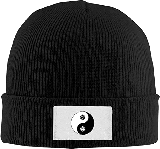 Stretchy Cuff Beanie Hat Black Dunpaiaa Skull Caps Crocodile Winter Warm Knit Hats