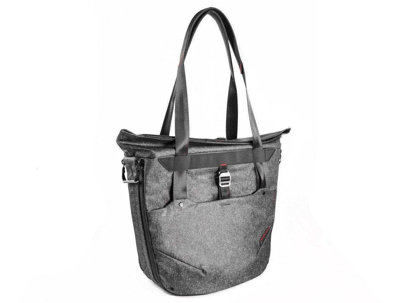 Peak Design Everyday Tote Shoulder Bag/Messenger Bag, Charcoal, Camera Case/Cover (Shoulder Bag, Universal, Shoulder Strap, Notebook Compartment, Charcoal)
