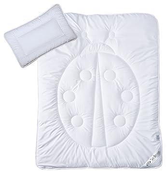 Sei Design Kinder Bettset Baby Kissen 40x60 Baby Bettdecke