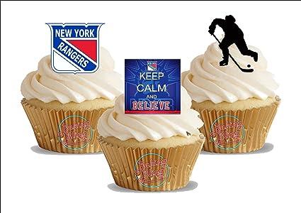 Amazon 12 X Ice Hockey New York Rangers Trio Mix