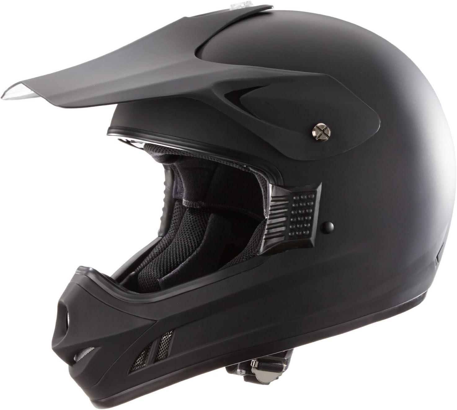 Protectwear Casque de motocross // Enduro H610-MS noir mat Taille: S