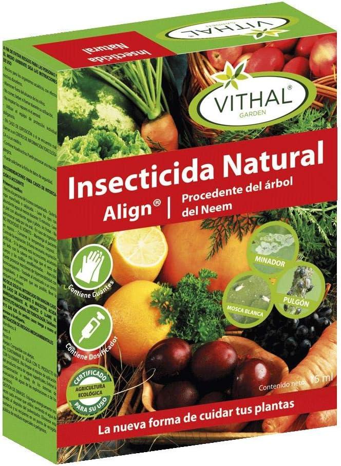 Insecticida natural del árbol del Neem 15 ml: Amazon.es: Jardín