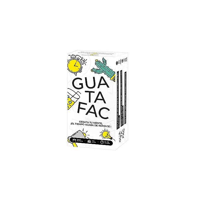 Guatafac – Juego de Mesa y de Cartas – Edición Español