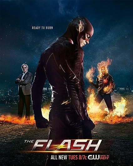 Super Amazon.com: JIONK® The Flash Season 2 Movie Poster 24X31.5 Inch DT-21