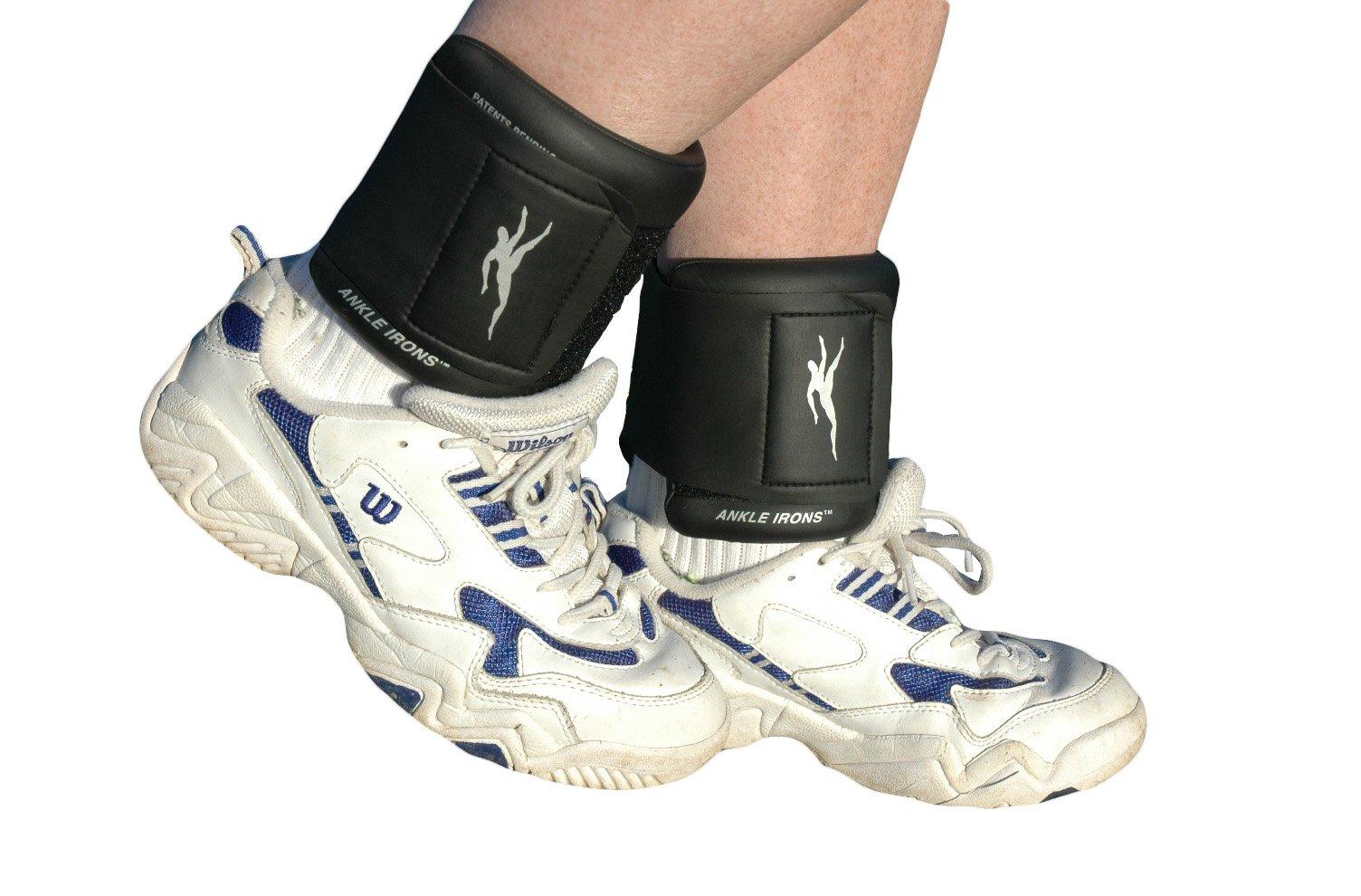 Ironwear Ankle-Wrist Irons Champion SeriesFlex-Metal 2.5lbs Each, 5lb Pair