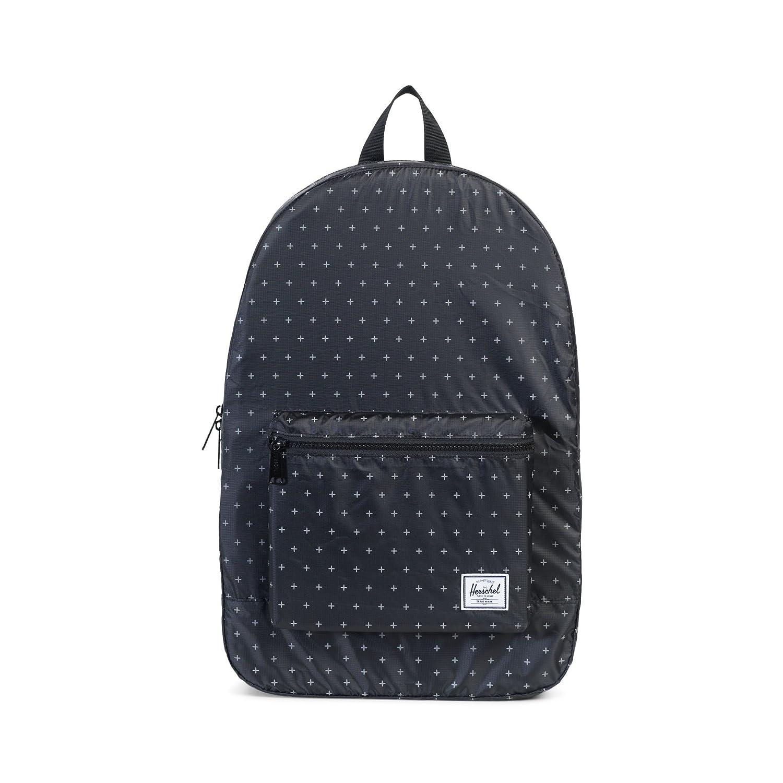[ハーシェルサプライ] リュックサック Packable Daypack 10076-00003-OS B01N2I69MN Black Gridlock Black Gridlock