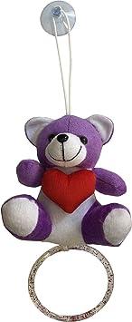 Lushomes Cute Purple Teddy Bear with a Napkin Hanger. (Single pc, Size: 5x5)
