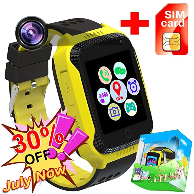 Amazon.com: [SIM Card Included] Smart Watch for Girls Boys ...