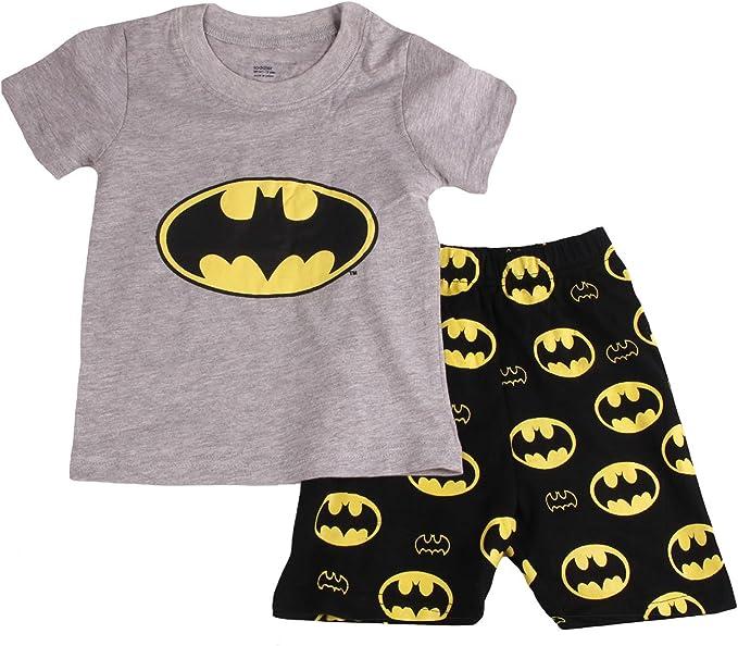Batman Boys Toddler 2 Piece Pajama Set Sleepwear Size 3T