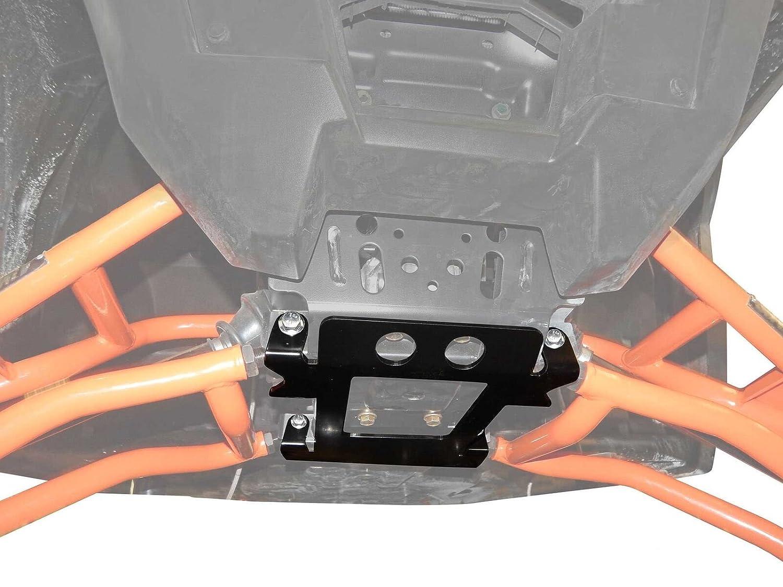 SuperATV Polaris RZR 1000//4 S//Turbo 900 General Front Suspension Frame Stiffener Black