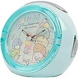 すみっコぐらし 目覚まし時計 LEDクロック 4曲メロディアラーム アイスクリーム ブルー