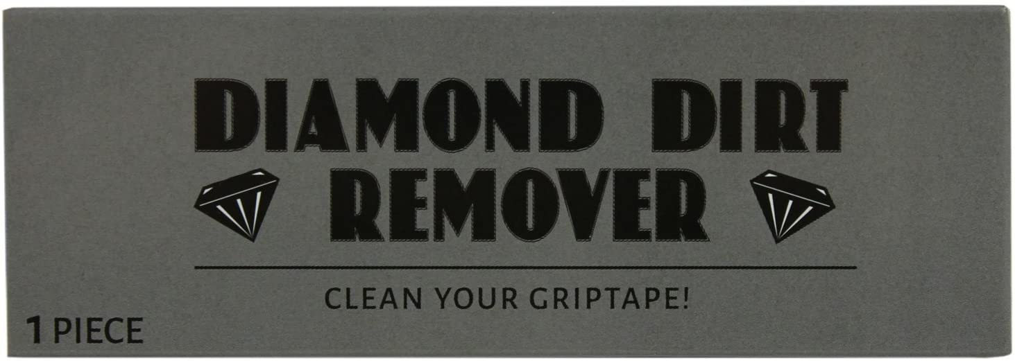 Black Diamond BD-GRIP-CLEANER Skateboard Griptape Cleaner - Diamond Dirt Remover Gummy Cube - 1