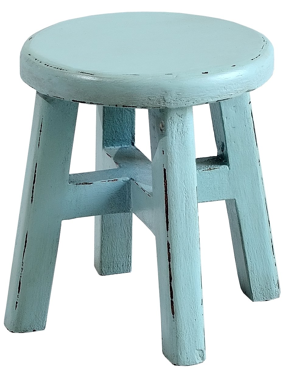 Casual Elements Child Stool (Set of 2), Island Blue