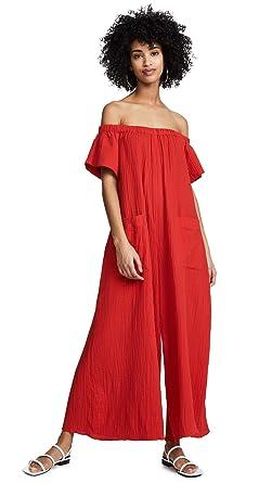 4a04e55da40 Mara Hoffman Women s Blanche Jumpsuit Cover Up at Amazon Women s ...