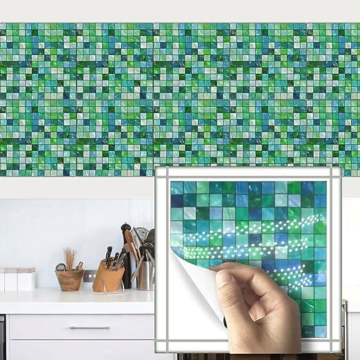 Hyfanstr 20 X 20cm Mosaik Aufkleber Fliesenspiegel Fliesen Aufkleber
