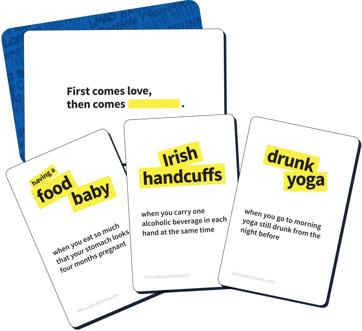 cb10d7a5e7 Buffalo Games Urban Dictionary - The Party Game of Slang Card Game   Amazon.com.au  Toys   Games